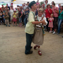 2007 - Kinderkönigspaar Gesina Kohls und Marian Renz