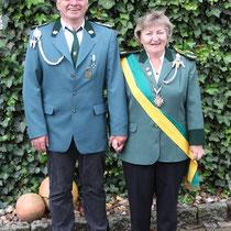 2011 - Kronprinzessin Astrid Sachse mit Gatte Rainer