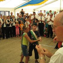 2005 - Kinderkönigspaar Anna-Julia Koch und Christopher Webs