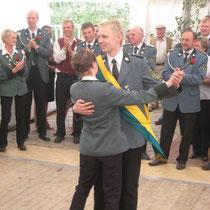 2008 - Kronprinz Björn Gröncke und Begleitung Mirja Heuer