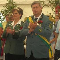 2007 - Schützenkönig Hartmut Ringel und Gattin Sabine