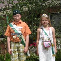 2009 - Kinderkönisgpaar Jonas Renz und Merle Petrausch