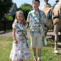 2006 - Kinderkönigspaar Jaqueline Klein und Timo Timm
