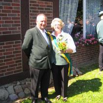 Kronprinzessin 2006 - Margret Sievers mit Begleitung Horst Wacker