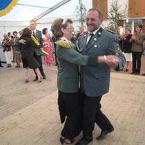 2008 - Schützenkönigin Marion Schlieckau-Warncke und Gatte Hans-Hermann