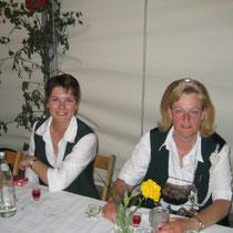 2005 - Schützenkönigin Christiane Gräf und Kronprinzessin Katrin Baak-Mirow