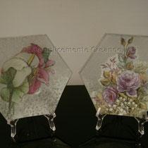 piattini piccoli vetro (cm 13 x 13)