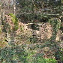Ruine d'une maison près de Pont Trapier