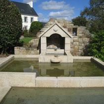 Fontaine à la coquille, Collorec