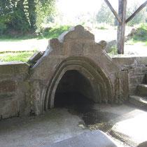 Lavoir au bourg de Spézet