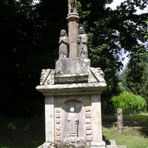 Calvaire du Krann, avec statue de saint Antoine