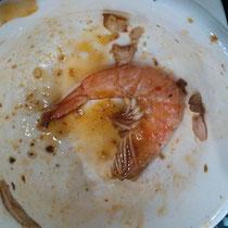 Ja, das ist ein Shrimps, und ja, das gibt es auch in Deutschland. Also weshalb ein Foto? Weil ich Schrimps in Deutschland gehasst habe, deswegen seid stolz auf mich, denn hier probiere ich alles & habe festgestellt, dass mir Schrimps tatsächlich schmeckt!