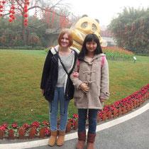 Tina und ich (sorry, ziemlich hässliches Bild…)