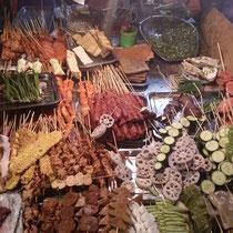 Was anderes: BBQ. War sau scharf aber eindeutig eins von meinen Lieblingsessen in China!