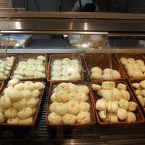 Mein Paradies! Jede Menge Baozi mit verschiedenen Füllungen :D
