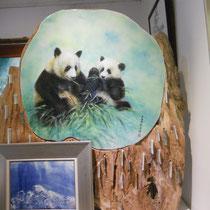 Das hat Tinas Onkel gemacht! Ich hoffe, ich sehe die Pandas bald in echt :)