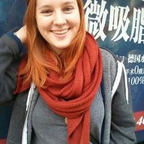...und das bin ich, mit tausend Jacken, weil ich einfach nicht genug warme Kleidung mitgenommen habe...