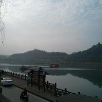 Fluss in Langzhong :) ...