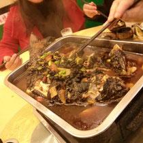 Eins von dem vielen Essen, das ich gegessen habe: Gerösteter Fisch. Lecker!