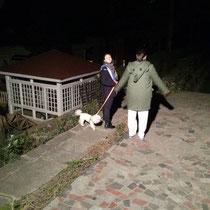Am Wochenende zieht Luzi immer mit April in deren Haus am Stadtrand (irgendwo im Nirgendwo, man koennte es fast schon Land (!) nennen). Dort ist es echt ganz schoen und sehr still. Auf dem Foto machen wir grad irgendeinen Scheiss in der Nacht :P