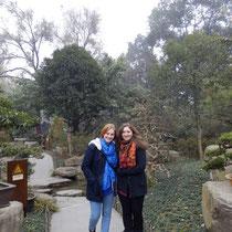 Luzi und ich bei meinem zweiten Mal Jin Li.