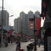 Eine supersüße Straße gleich in der Nähe des Markts :)
