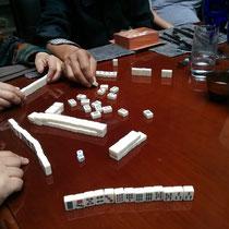 Meine erste (aber sicherlich nicht einzige!) Mahjongstunde :)