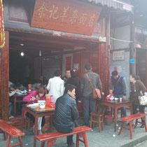 Restaurant auf der Straße, dachte ich sollte auch mal rein.