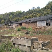 Bauernhof auf dem Land - ziemlich arm.