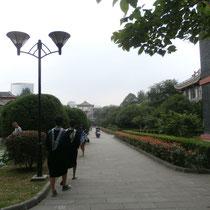 Auch auf dem Campus, war da eigentlich sogar ganz schön :)
