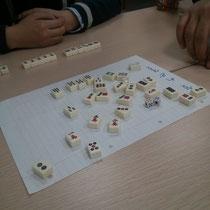 Zweite Mahjong-Stunde - inzwischen kanns ich einigermaßen :)