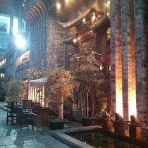 Die Gegend um das Restaurant war auch sehr schön; vor dem Essen sind wir ein bisschen rumgelaufen...