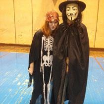 Alistair und ich - er im obergeilen Kostüm!