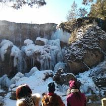Eingefrorene Wasserfälle - geil!