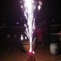 Unser kleines privates Feuerwerk :)