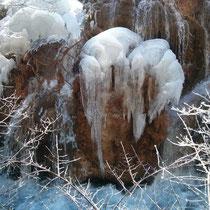 Und noch ein Foto vom Eiswasserfall, weil ich den so cool fand!