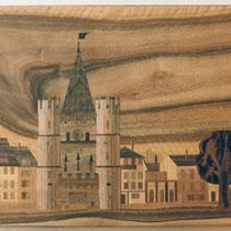 Stadt Basel Spalentor 60 x 40 cm