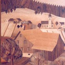 Ansicht Balgach Intarsie
