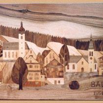 Dorf Balgach im Rheintal