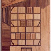 Rat - Haus 42 x 30 cm