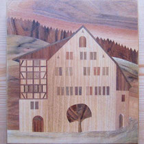 Altes Rathaus zu Balgach 22 x 22 cm