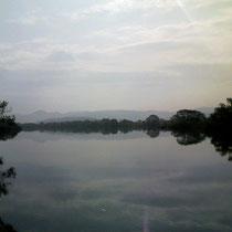 「川」 宮城県登米市を流れる北上川