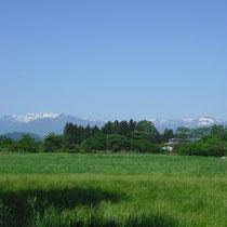 「山」 宮城県川崎町から見る蔵王連峰