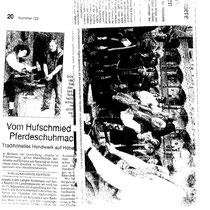 Schauschmieden im Alten Schoß in Stuttgart