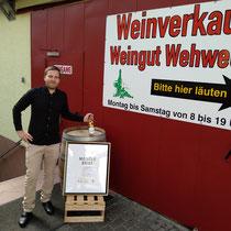 3. Generation: Weinküfermeister Philipp Wehweck