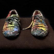 Les chaussures de l'artiste