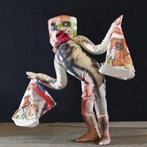 L'homme aux poubelles