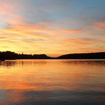 Abendstimmung am Lac de Pareloup
