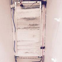 Frozen Evaporator Of A Freezer