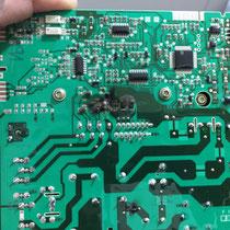 Burnt Washer Motor Control Board